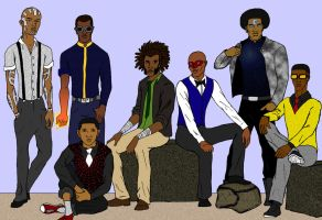 Marvel's Young Black Heroes by tapwater86