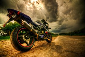 Honda CBR600 by Simibean