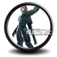 Metal Gear Rising: Revengeance icon S7 by SidySeven