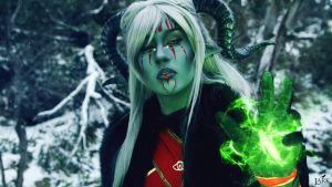 The Mark - Qunari Inquisitor cosplay by Soylent-cosplay