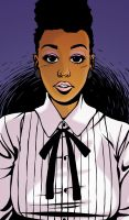 Janelle Monae by Tallychyck