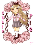 2nd Entry CutiePie T-shirt Contest by Nanami-chan28
