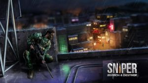 Sniper in action by KardisArt