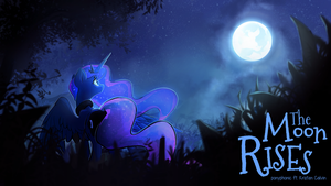 The Moon Rises by DarkFlame75