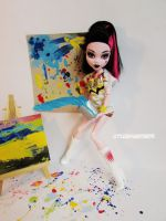 Explosion in a paint factory! by littlemissanthrope