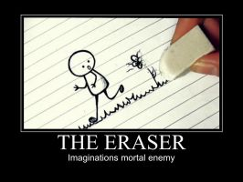 The Eraser by GabrielRaven