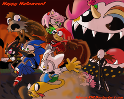 Sonic Halloween 2012 by MaroxXIII