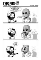 THONK: Blue pill or Red pill by UNiCOMICS-Chowkofsky