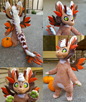 Mini Artdoll Commission: Spice the Angel Dragon by SPoppet