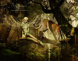 The story of the leopard and angel lia by annemaria48