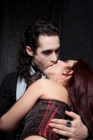 vampire kiss-ladysivali-stock by ladysivali-stock