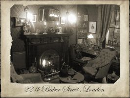 221b Baker Street by Rabittooth