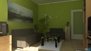 Interior - Living room $2 by Puttee