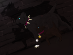 Two Sides of Scourge by Hoverpelt