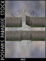 Fences 010 Picket Fence by poserfan-stock