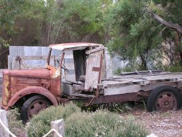 Old Rusty Truck by stock-kitty