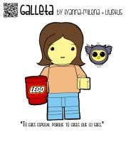 Galleta 0019 Lego by 4u5