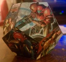 Metroid Cover Dodecahedron 3 by gpsc