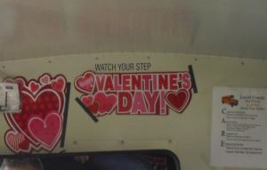 Watch your step valentine by californian-sunshine