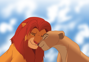 Simba and Nala by KIIR93