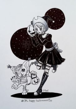 .day31: free draw - happy halloween! by mimiclothing