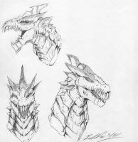 Shell Shock concept( head) by The-KaijuEnthusiast