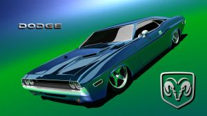 Dodge Challenger Low Rider by lst