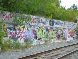 Writing's on the wall by einsman