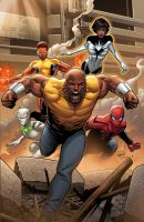 Mighty Avengers #1 by GURU-eFX