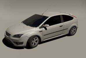 Focus ST 2008 white by CapraruConstantin
