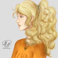 Annabeth Chase by Line97