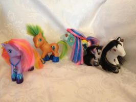 More OCs Custom Ponies by bluebellangel19smj