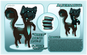 .:Oreo's Ref.:. by GloryCat