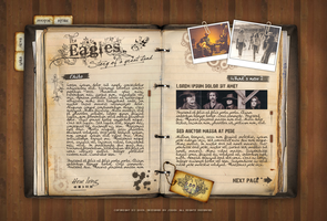 Eagles Band by JiggyDesign
