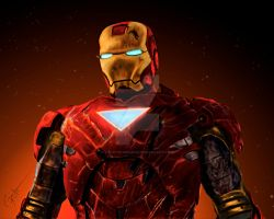 IronMan by Cycotic-Menace