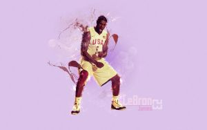 LeBron James Wallpaper by Coelhao95