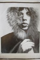 Mick Jagger by depoi