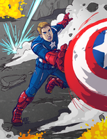 Cap Attack! by GI-Ace