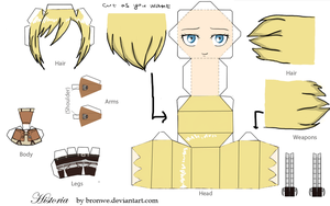 Christa Renz papercraft by Bronwe