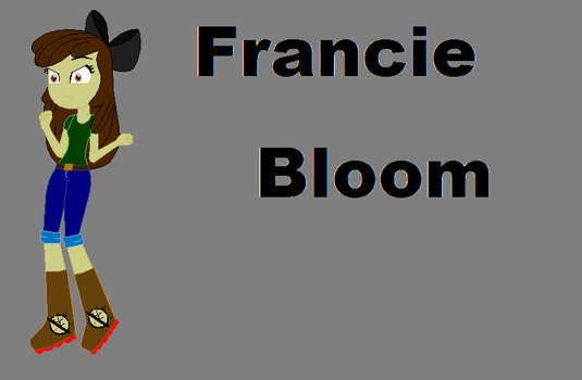 Francie Bloom by timelordderpy