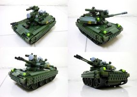 Lego Compact Tank 3.1 by SOS101