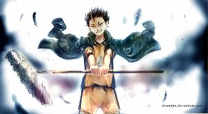 Haikyuu - The Guardian Deity : Nishinoya by Shumijin