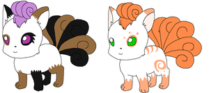 Vulpix Pup Request 15 by sam-speed