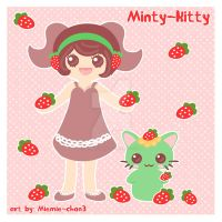 Art Trade Minty-Kitty-Art by miemie-chan3