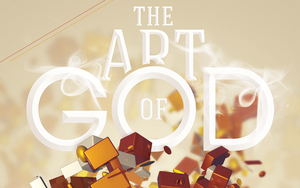 The Art of God Church Flyer and CD Template by loswl