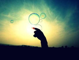 soap bubbles by littlemusicfreak