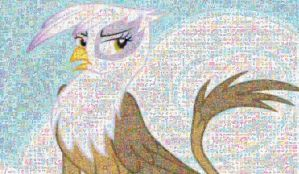 Gilda, bitch of the Sky Mosaic by Lacon-te
