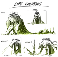 Life - Concept sketches by Zanaffar