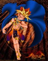 Atem of the Sun by RoseDuelistBBSHM