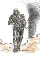 Halo 3 Chief by murader191